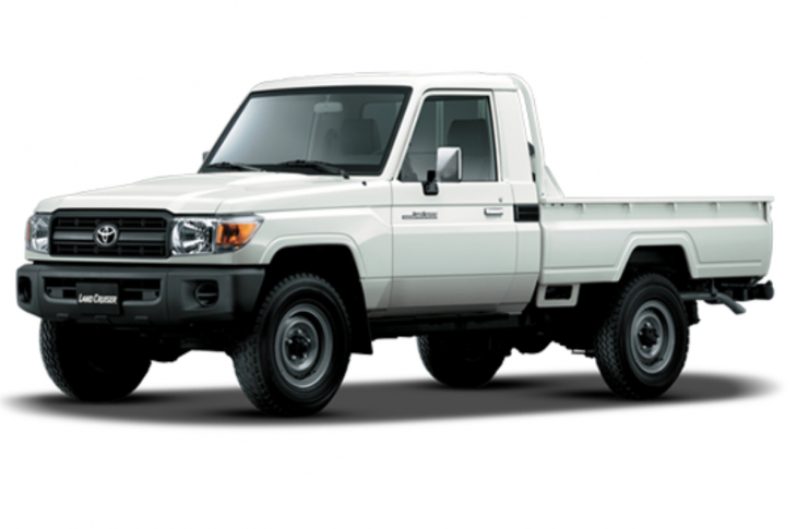 TOYOTA LAND CRUISER PICK UP C/S